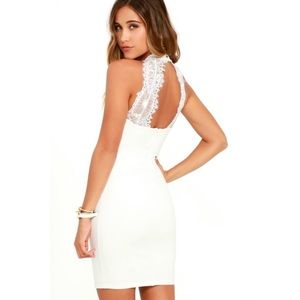 Lulus endlessly alluring lace dress